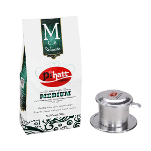 Pihatt Coffee – Medium & Phin Filter Bundle