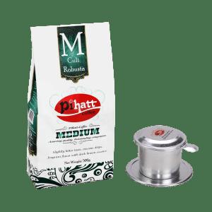 Pihatt Coffee – Medium & Phin Filter Bundle